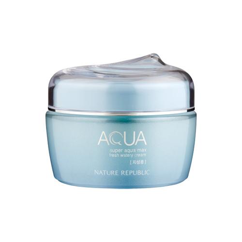 Kem Dưỡng Ẩm Nature Republic Super Aqua Max Fresh Watery IMAGE