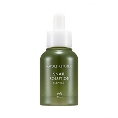 Tinh Chất Dưỡng Da Nature Republic Chiết Xuất Ốc Sên Snail Solution Ampoule IMAGE